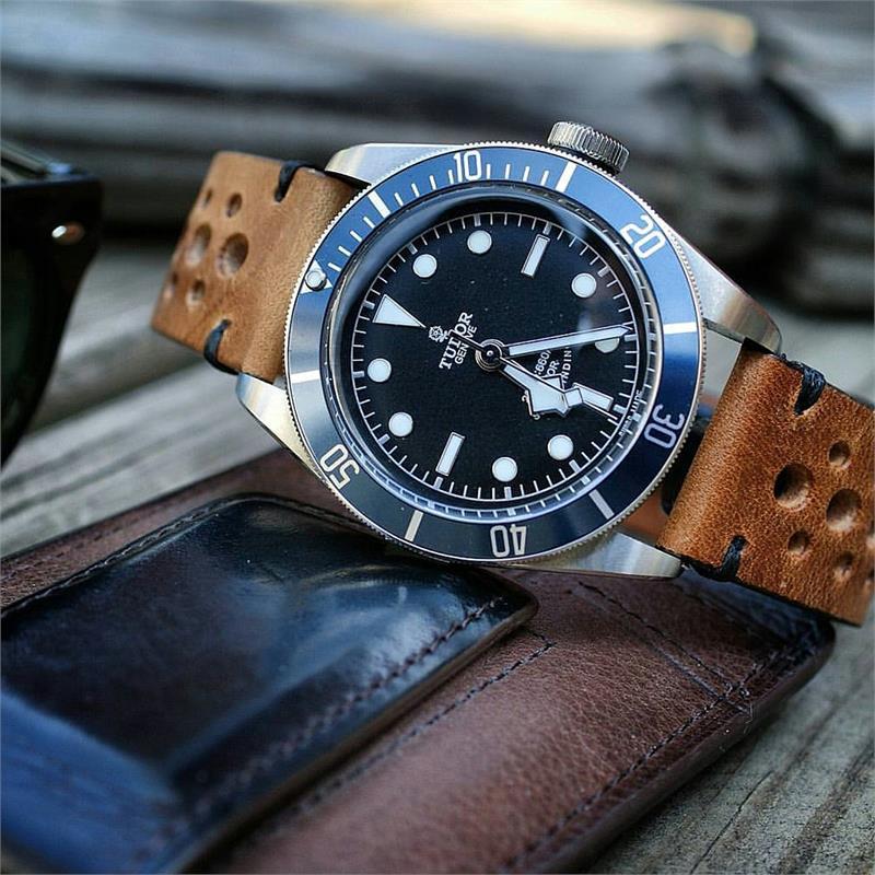 Oak Classic Vintage Racing Watch Strap B Amp R Bands