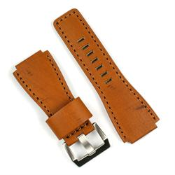 Bell and ross Watch Strap in Tan Vintage Wood Leather