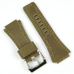 Bell and Ross Leather Watch Band Strap BandRBands