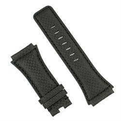 Bell & Ross Watch Band for the BR02 in black carbon fiber
