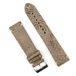 BandRBands Waxed Classic Vintage Leather Watch Band Strap available in 20mm 22mm lug widths