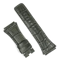 Bell & Ross Br02 Watch Strap in Gray gator leather