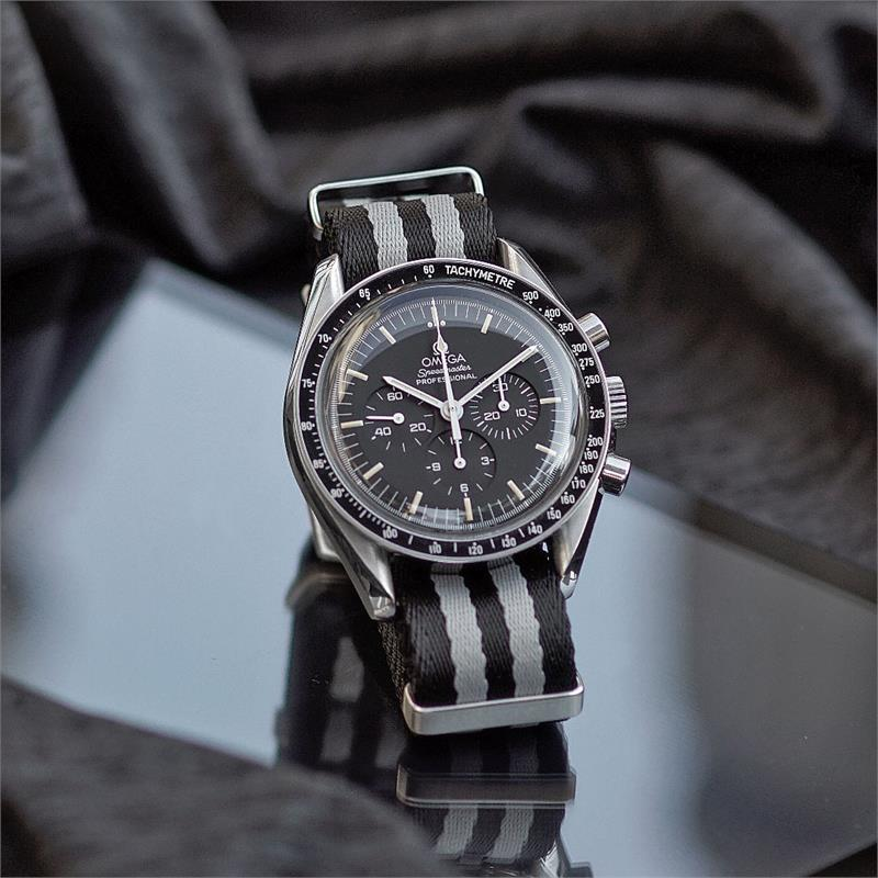 Classic Bond Nylon Seat Belt Nato Watch Strap B R Bands