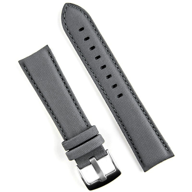 22mm Gray Tactical Watch Band B R Bands