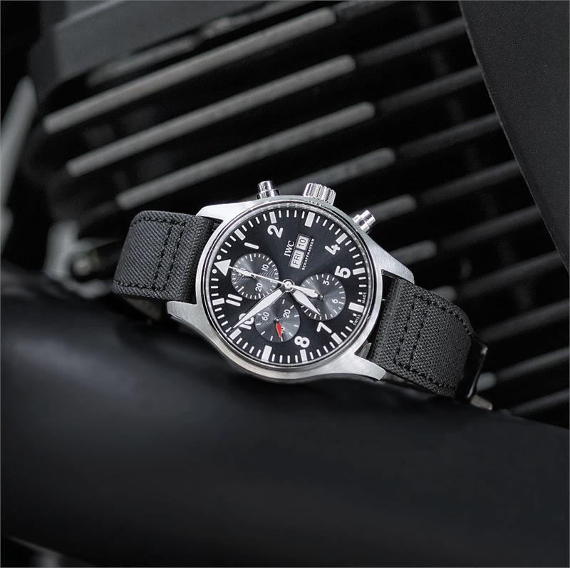 Bell And Ross Watch >> Black Tactical Pilot Watch Band   B & R Bands