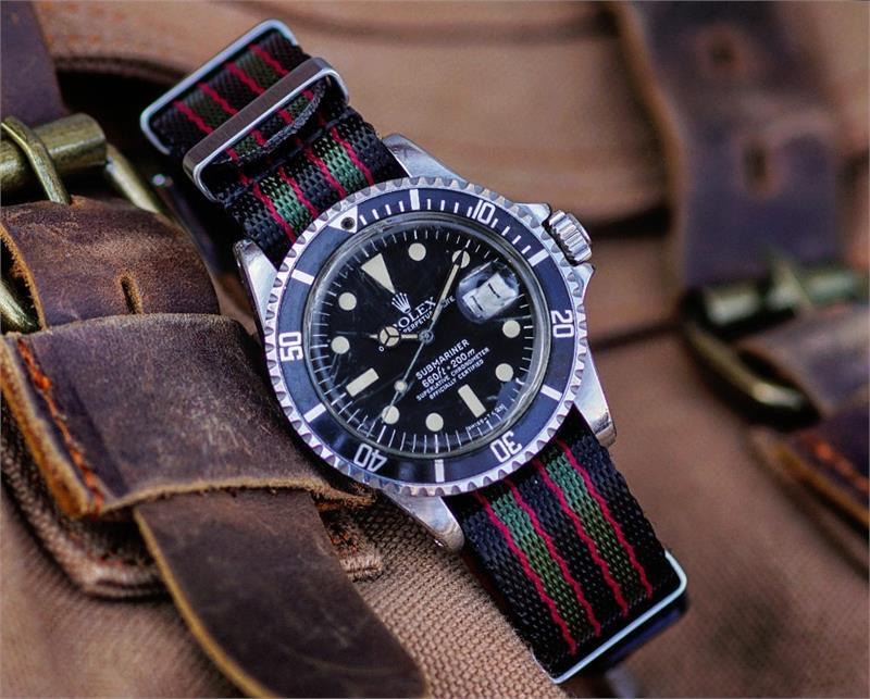 Original Bond Nylon Seat Belt Nato Watch Strap B R Bands