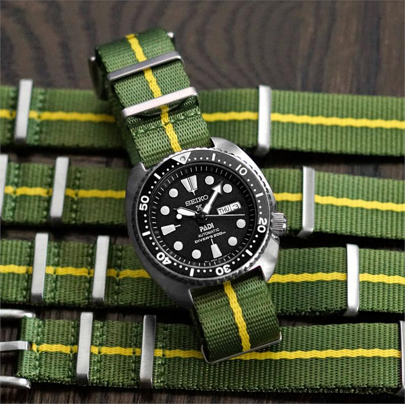 Bell And Ross Watch >> Marine Nationale Seat Belt Nylon Military Watch Strap   B ...
