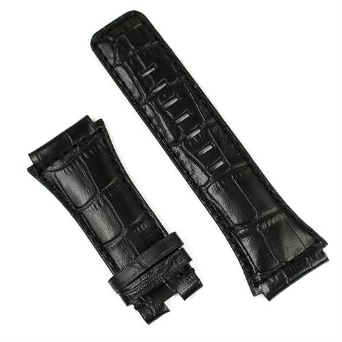 Bell and Ross BR02 Watch band in black gator