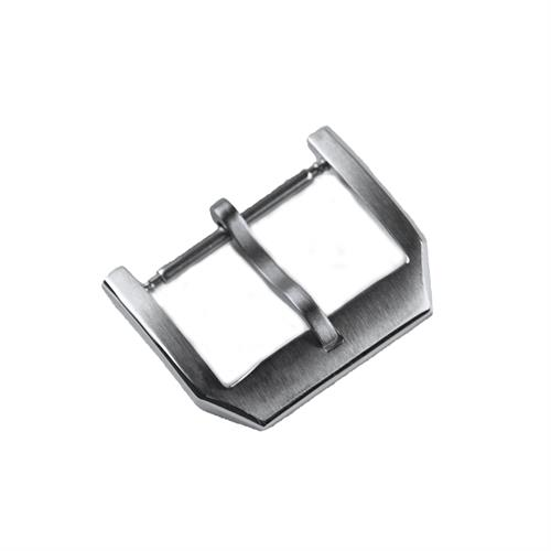 Replacement IWC Buckle For Sale in stainless steel with brushed and polished details