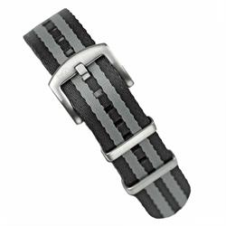 18mm 20mm 22mm Classic Bond Seat Belt Nylon Nato Watch Strap Band