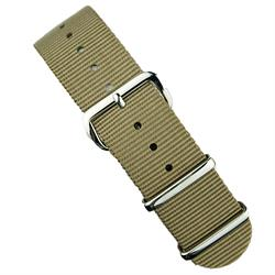 BandRBands Sand Nato Watch band strap in 18mm 20mm 22mm
