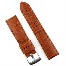 BandRBands 20mm watch band in honey gator leather