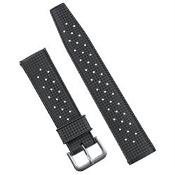 B & R Bands Vintage Tropic Rubber Diver Watch Band Strap available in 20mm 22mm lug widths
