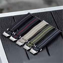 Marine Nationale Parachute Military Watch Bands Strap Many Colors 20mm 22mm lug widths