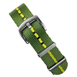 B & R Bands Marine Nationale Nylon Seat Belt Watch Band Strap 20mm 22mm