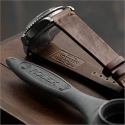 B & R Bands 20mm 22mm Vintage Horween Leather Watch Bands Straps in beautiful natural chromexcel leather