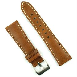 B & R Bands 22mm Leather Watch Band Strap for Bell & Ross Watches