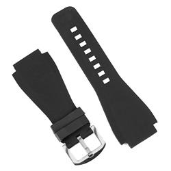 Bell and Ross Replacement Rubber Watch Band Strap for the BR01 BR03 watches