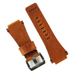 Coagnac Italian Leather Vintage Bell & Ross Watch Strap Band for the BR01 and BR03 with handsewn black stitching