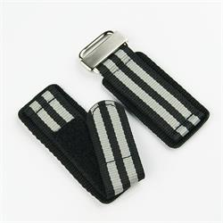 BandRBands 20mm 22mm 24mm James Bond Nylon Velcro Watch Band strap with a stainless steel buckle